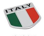 Alloy National Flag Car Decoration Logo Metal Car Sticker