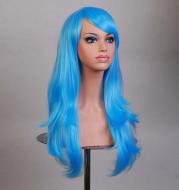 Wig Sky Blue