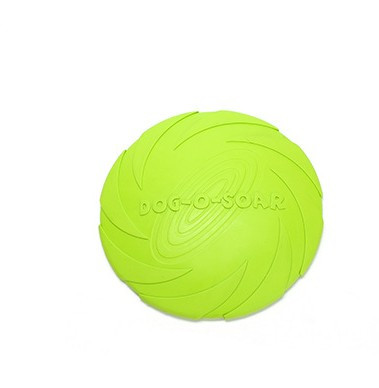 green color Dog Frisbee Toy