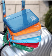 Travel abroad passport package multi-function document bag passport holder document bag storage bag ticket holder