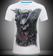 Skull 3D  Print Tshirt