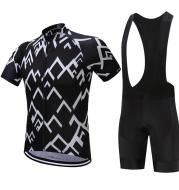 Summer wicking breathable short-sleeved Jersey suit spot wholesale Hot bicycle service