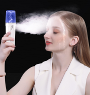 Facial Moisturizing Facial Beauty Apparatus With USB Charging Battery Bank