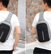 Wholesale manufacturers anti-theft chest pack men's fashion SATCHEL BAG BAG outdoor travel backpack