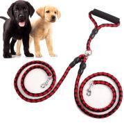 Braided Tangle Free Dual Dog Leash
