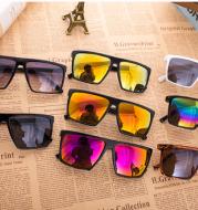 Ghost glasses skull skull skull color film sunglasses tide men and women square sunglasses sports frog mirror
