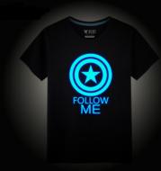 Luminous T-shirt, Avenger alliance, iron man T-Shirt