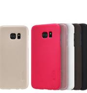 Pour Samsung Galaxy S7 et S7 bord cas Super Givré Bouclier Cas pour Samsung Galaxy Note 7 couverture arrière mat couverture shell avec Écran Film