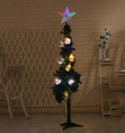 Christmas tree top five angle star LED decorating lamp