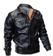 Vedero Men's Leather Jacket