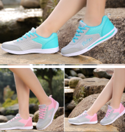 2020 spring summer new big size women's shoes, ladies casual flat sole shoes, sports shoes, fashionable women shoes wholesale