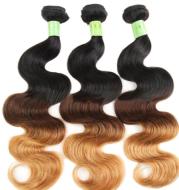 Xuchang wig body waveT1b/4/27 ombre hair curtain