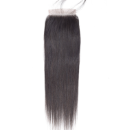 Real wig, lace accessories, straight4*4 hair block manufacturer, direct supply, foreign trade, quick sale, one generation