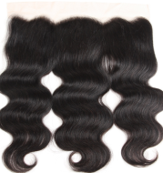 Amazon foreign trade real wig, Europe and the United States 4*13body wave real hair hair block inventory