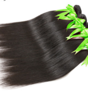 100% real hair wig straight hair natural color Europe and America Brazil straight hair curtain