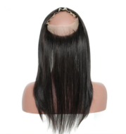 Real-life hand-woven full lace 360 hair block full lace closure frontal wig accessories