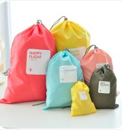 Waterproof travel bag pocket, travel bag, four sets of underwear, shoes, socks, clothes, bags, bags, bags, bags.