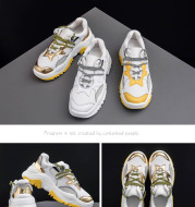 Ins super fire shoes Harajuku flame shoes breathable sports wild old shoes women