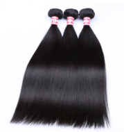 Custom-made Real Hair Wig Straight Hair