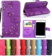 Papillon Bling Diamant PU Cuir Flip Couverture Pour Samsung Galaxy S8 Plus S7 S6 Bord S5 J3 J5 J7 2021 A3 A5 A7 2021 J2 Premier cas