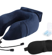 Portable U-shape Inflatable Travel Neck Memory Pillow Airplane Car Travel Kit Nap Sleep Picnic Travel tools Travel Accessories