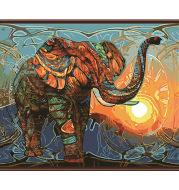 Digital oil painting Diy