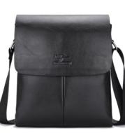 New Kangaroo Men's Bag Business Bag Men's Shoulder Messenger Bag Backpack Casual Pu Bag
