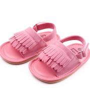 Baby Suede Tassel Decoration Sandals