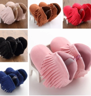 Baby shoes boots foreign trade tassels Velcro baby boots