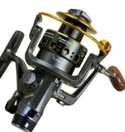 MG30-60 double-loading metal head front and rear brake reel fishing gear