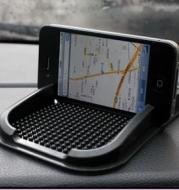 Vehicle mounted antiskid pad iphone7P mobile phone navigation multi-functional support Pu box OPP bag
