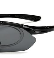 Yusha outdoor riding glasses outdoor set bicycle sunglasses 5 piece sports 0089 polarized wholesale sunglasses