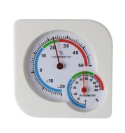 Household dial thermometer, humidity temperature sensor, high precision indoor and outdoor pointer thermometer