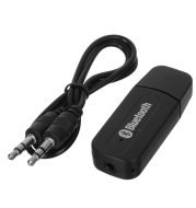 Bluetooth Receiver Dongle Stereo Music Audio Receiver Wireless USB Adapter for Car