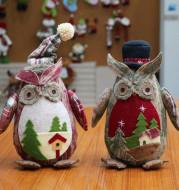 Christmas Decorations Creative Christmas Decorations Christmas Doll Owl Figure Christmas Decorations