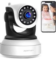 1080P HD network shaking head machine Network port wifi surveillance camera