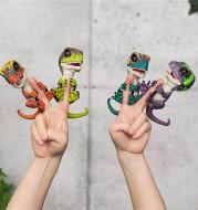 Finger dinosaur fingertips