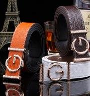Ladies luxury belts cummerbunds for women G buckle Belt Genuine Leather belt Fashion genuine leather men belts buckle