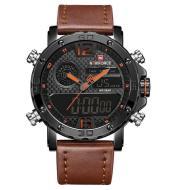 Naviforce collar NF9134 men's watch fashion double movement personality men's watch