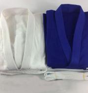 Copy of Blank Judo Gi (Blue/White)