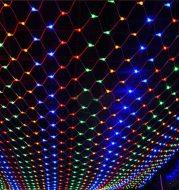 Christmas led lights string lights outdoor waterproof fishnet lights full of stars paved holiday lights wedding ins decorative lights