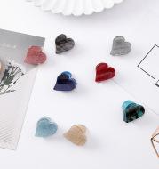 Japanese dream girl heart beads flash powder star clips mini love hair catch hairpin bangs clip hairpin hair accessories