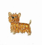 Little lion brooch fur dog style girl jewelry matching