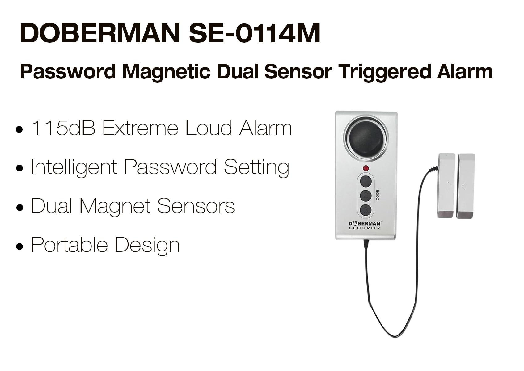 DOBERMAN Security SE-0114M Alarm