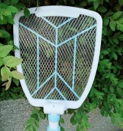 Electric mosquito swatter retractable folding fly swatter rechargeable mosquito swatter