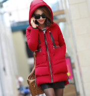 M-5XL 2021 Winter Women Parkas Coats Female Jacket Plus Size Thickening Wadded Casual Loose Pregnant Women Thick Coat Outwear