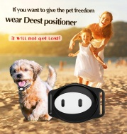 Mini Waterproof Dog GPS Tracker for Cats Pets with Collar Original Box 4 Frequency GPRS GPS+LBS Location Free APP Free Shipping