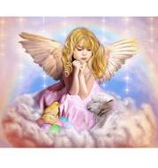 XXL -  5D Diamond Painting - Engel Mädchen
