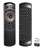 Docooler Mini 2.4GHz Wireless QWERTY Keyboard Air Mouse Handheld Remote Control 6 Gxes Gyroscope for Mini PC TV Box