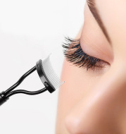 Collapsible Eyelash Comb